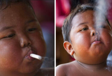 Han rökte 40 cigaretter varje dag när han var en liten pojke! Men SE hur han ser ut idag!