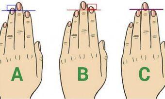 Det HÄR är vad längden på dina fingrar säger om din personlighet!