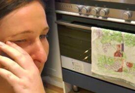 Mannen dumpar sin gravida fru – fem veckor senare hittar hon något SJUKT i ugnen!
