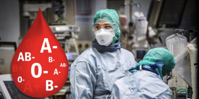 Blodgrupp ökar risken att bli allvarligt sjuk i corona