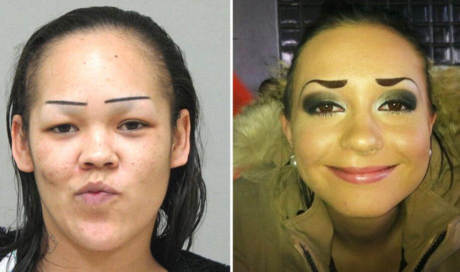 14 personer som garanterat ångrar vad de gjorde med sina ögonbryn