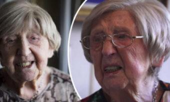 """108-åriga Dagnys löfte till folket: """"Tills jag slutar mina levnadsdagar"""""""