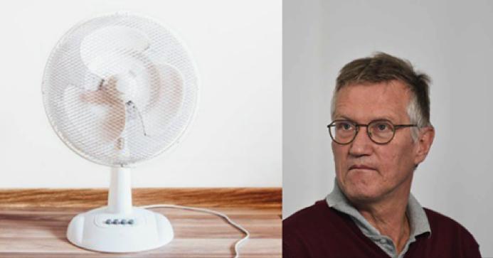 Anders Tegnell vill förbjuda fläktar på äldreboenden – i värmeböljan